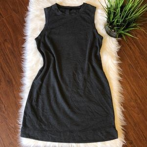 Lou & Grey Gray Sleeveless Soft Comfort Dress